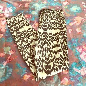 Jessica Simpson Denim - Jessica Simpson brown pattern skinny jeans