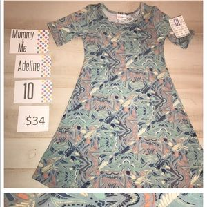 LuLaRoe Other - NWT! Lularoe Mommy & Me Adeline Dress 👗 Size 10