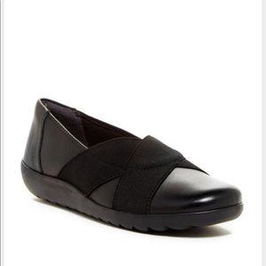 Clarks Shoes - Clarks Medora Jem black leather 7.5