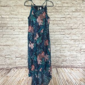Old Navy Women's high low Floral dress size medium