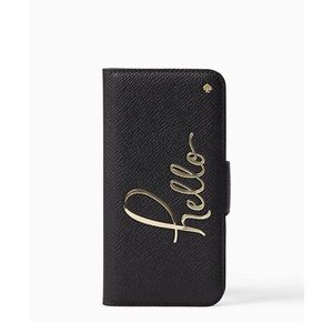 kate spade Accessories - Kate Spade Hello Folio iPhone 7 Case