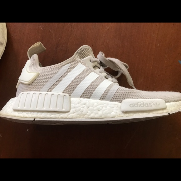 Adidas Shoes | Nmd White Cream Color