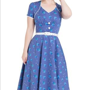 Voodoo Vixen Dresses & Skirts - Voodoo Vixen Charlize Dress size small retro pinup