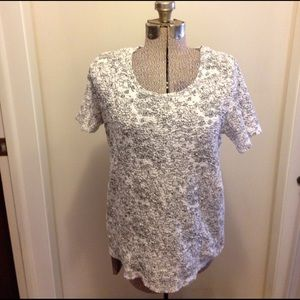 White Stag Tops - White Stag Floral top, large 12-14!