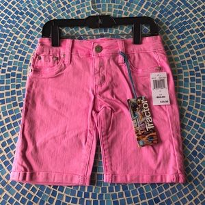 Tractr Other - Tractor kids pink denim shorts