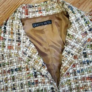 Lafayette 148 New York Jackets & Blazers - Lafayette 148 New York Tweed Ribbon Blazer