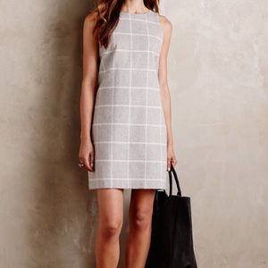 Paper Crown Dresses & Skirts - Anthropology Paper Crown Checkpane Shift Dress