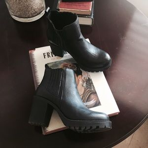 Urban Outfitters Shoes - Chunky Black Booties