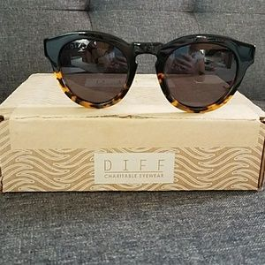 Diff Eyewear Accessories - DIFF Sunglasses-DIME II-Two Tone Frame