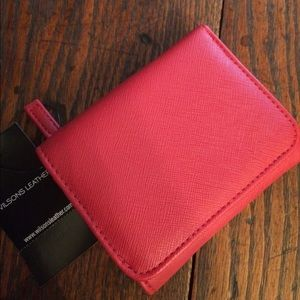 Wilsons Leather Handbags - Wilsons Leather brand new red wallet