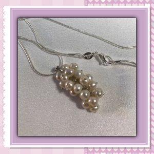 Jewelry - New White Pearls Vine 4 mm SS