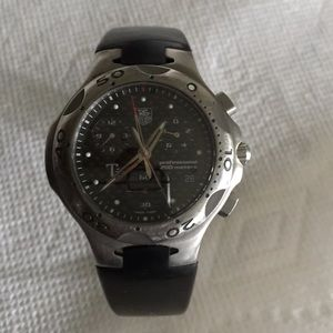 Tag Heuer Other - Men's TAG Heuer Titanium Carbon Fiber Watch