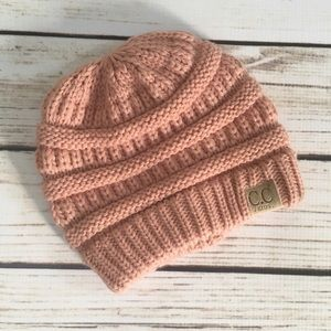 Nordstrom Baby Other - Gorgeous Blush Knit C.C. Beanie