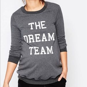 """Bluebelle Sweaters - Bluebelle Maternity """"The Dream Team"""" Sweater"""