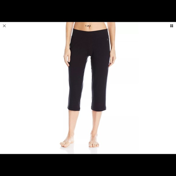 56f57d23cef45 Danskin Pants | Yoga Sleek Fit Crop By | Poshmark