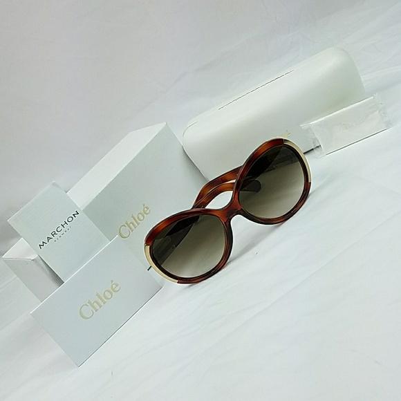 e03105c4cb8a Authentic Chloe Light Havana Sunglasses