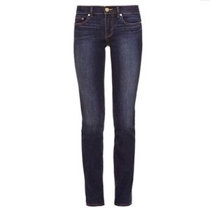 Tory Burch Super Skinny Crop Ankle Jeans