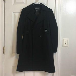 Moda International Jackets & Blazers - Black double breasted pea coat