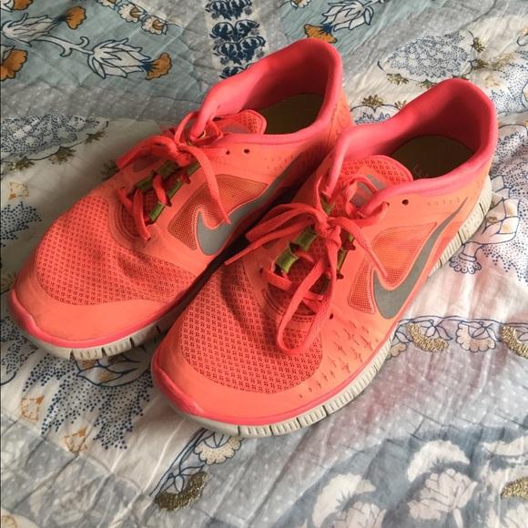 Nike Shoes Free Run 3 Neon Pink størrelse 8Poshmark Neon Pink Free Run 3 Poshmark
