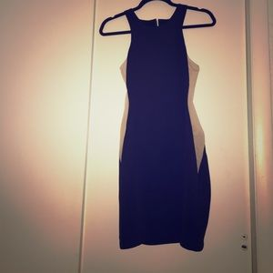 Arden B Dresses & Skirts - Black Dress w Mesh sides