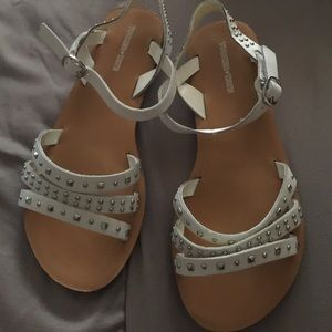 Tucker + Tate Other - Tucker + Tate white studded sandals . Size 3M ,4M