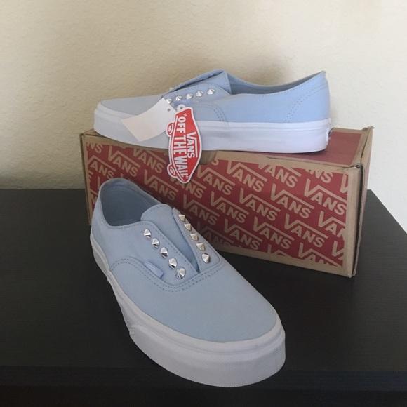 Vans Baby Blue Skyway Stud Gore Shoes