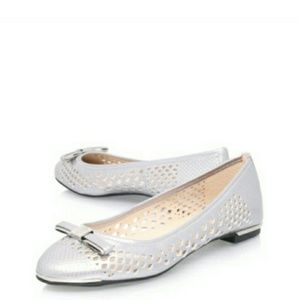 Vince Camuto Shoes - 🆕Vince Camuto Perforated Leather Ballet Flats