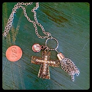 boutique Jewelry - 30% OFF BUNDLES💐Cross Charm Pendant Necklace💐