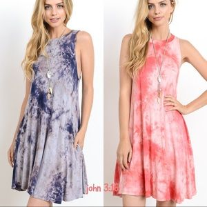 Boutique Dresses & Skirts - Tie dye sleeveless dress