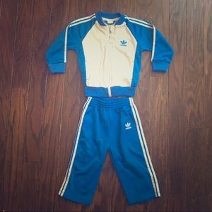 Adidas Other - Nylon Adidas track suit 😎Toddler size 24 months