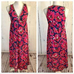 Lucky Brand Floral Print Maxi Dress
