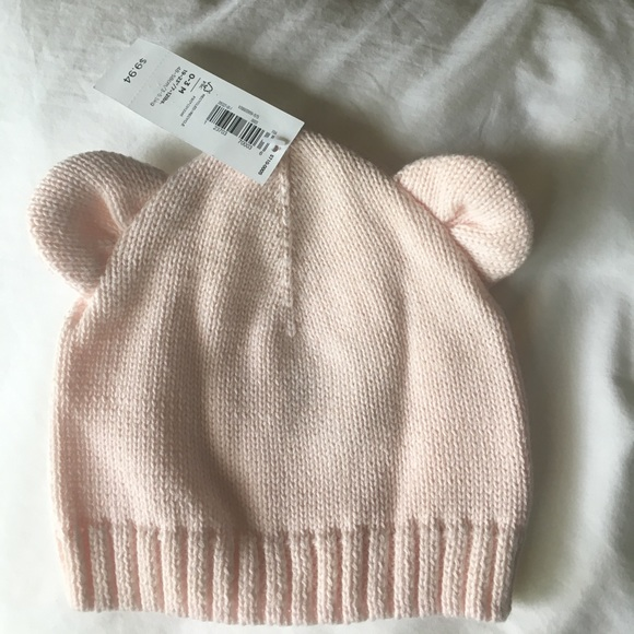 Baby girl bear-ears beanie d3c02fa588f