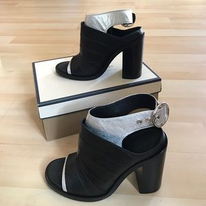 Maison Margiela Shoes - New Black/silver Maison Margiela leather shoes