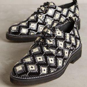 Anthropologie Shoes - Embellished Brogues