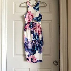 LF Stores Dresses & Skirts - Floral midi dress