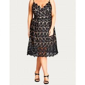 City Chic Dresses & Skirts - City Chic Crochet Dress