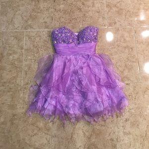 PURPLE PROM or SWEET 16 dress!!