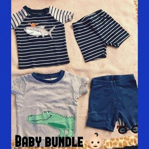 Carter's Boy Summer Pajamas Bundle
