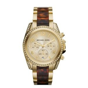 Michael Kors Accessories - 🎉Sale 🎉MICHAEL KORS GOLDTORTOISE WATCH
