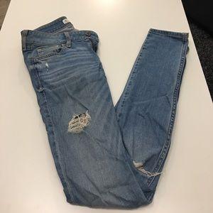 Hollister Denim - Hollister Distressed Skinny Jeans