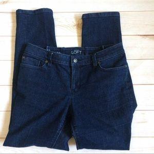 Ann Taylor Loft Denim - Ann Taylor Loft Modern Slim Dark Wash  Jeans 31x29