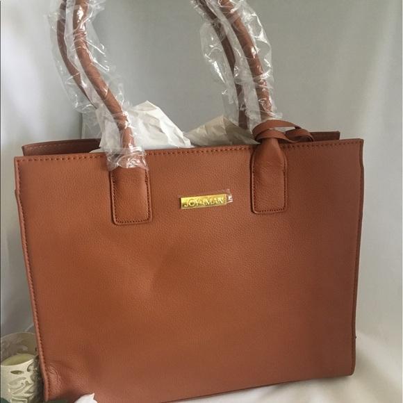 0fa9bbe1316a Joy & Iman Bags | Joy Iman Genuine Leather Glamour Handbag | Poshmark