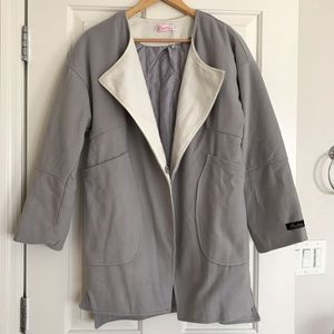 Jackets & Blazers - Grey coat