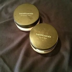 Bare Escentuals Other - Bare Minerals Set: Mineral Veil & Foundation