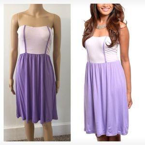 Dresses & Skirts - NEW small lilac lavender cutout back dress