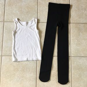 Other - Tank and Fleece Lined Legging