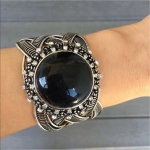 T&J Black Gem Cuff