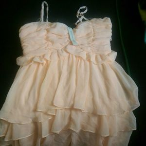 Boheme Dresses & Skirts - Peach color small dress