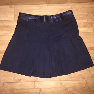 Urban outfitters pleated mini skirt