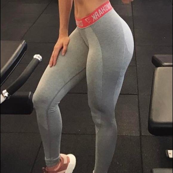 8435a330a5ff37 gymshark Pants | Flex Leggings Light Grey | Poshmark
